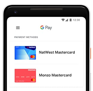Google Payment Methods