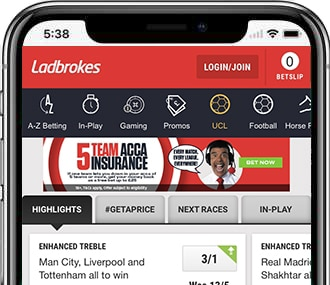 Ladbrokes betting app blackberry what is money line when betting