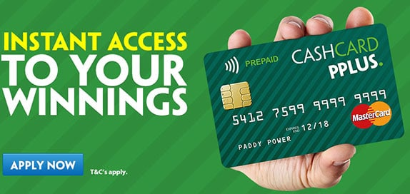 Paddy Power Credit Card